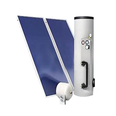 捷森平板太阳能300L单盘管中央热水(适用于5-6口家庭)
