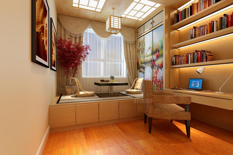 现代榻榻米多以实木颗粒板为主,在家庭中使用的榻榻米主要设计在卧房