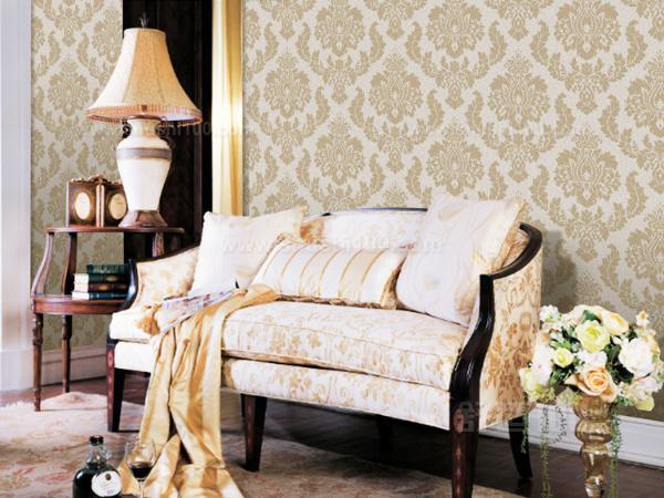 欧式沙发墙壁纸