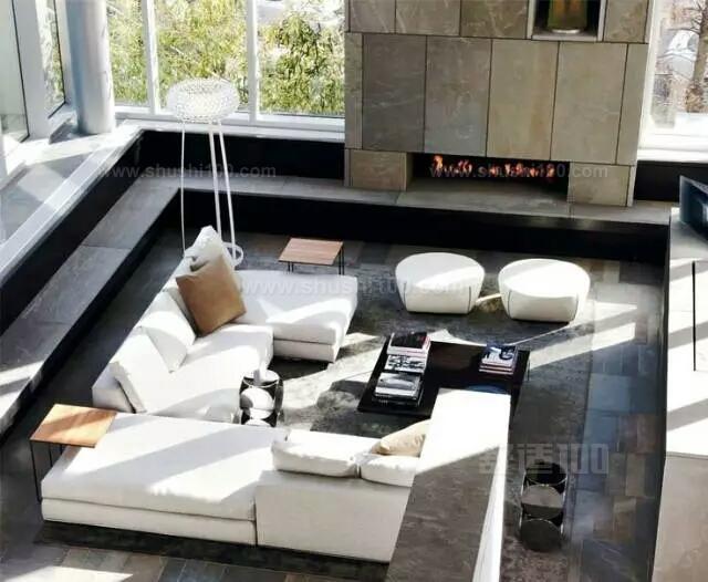 下沉式客厅—下沉式客厅设计方案和风水介绍