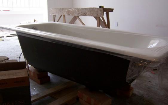 铸铁浴缸安装—铸铁浴缸的安装步骤