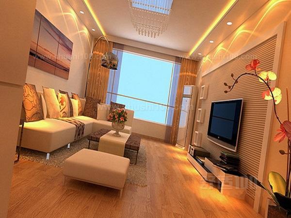 现代温馨装修客厅