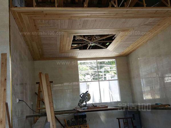 杉木板吊顶 杉木板吊顶施工和特点介绍