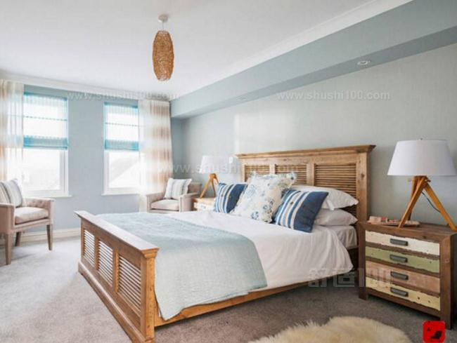原木家具卧室