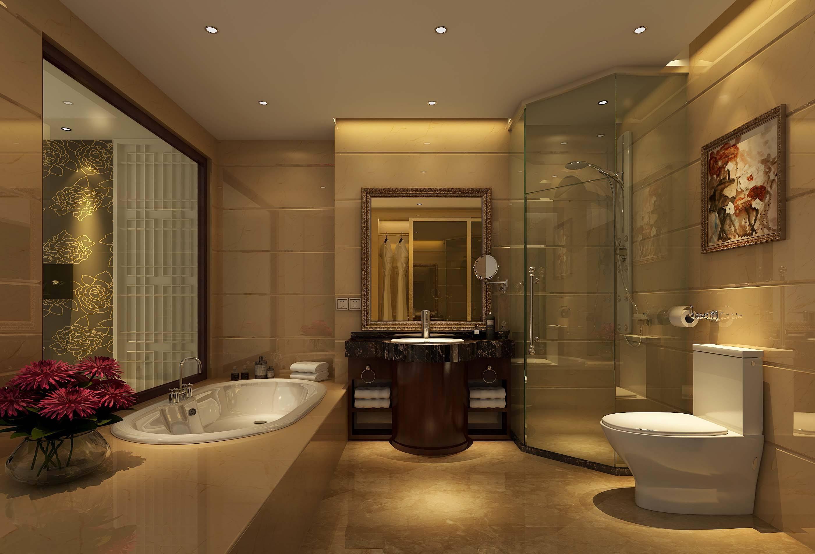 卫生间筒灯—卫生间选择筒灯、吸顶灯还是射灯呢