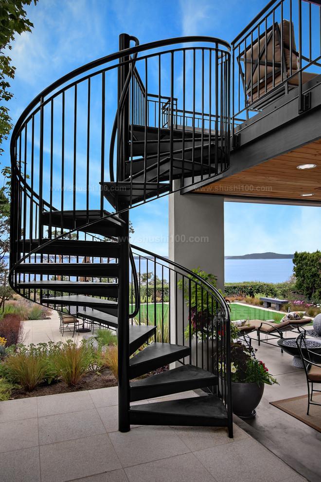 室外楼梯别墅 室外楼梯别墅的设计技巧