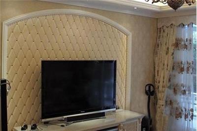软包影视墙—软包影视墙装修方法介绍 步骤一:放线在铺有底板的墙面
