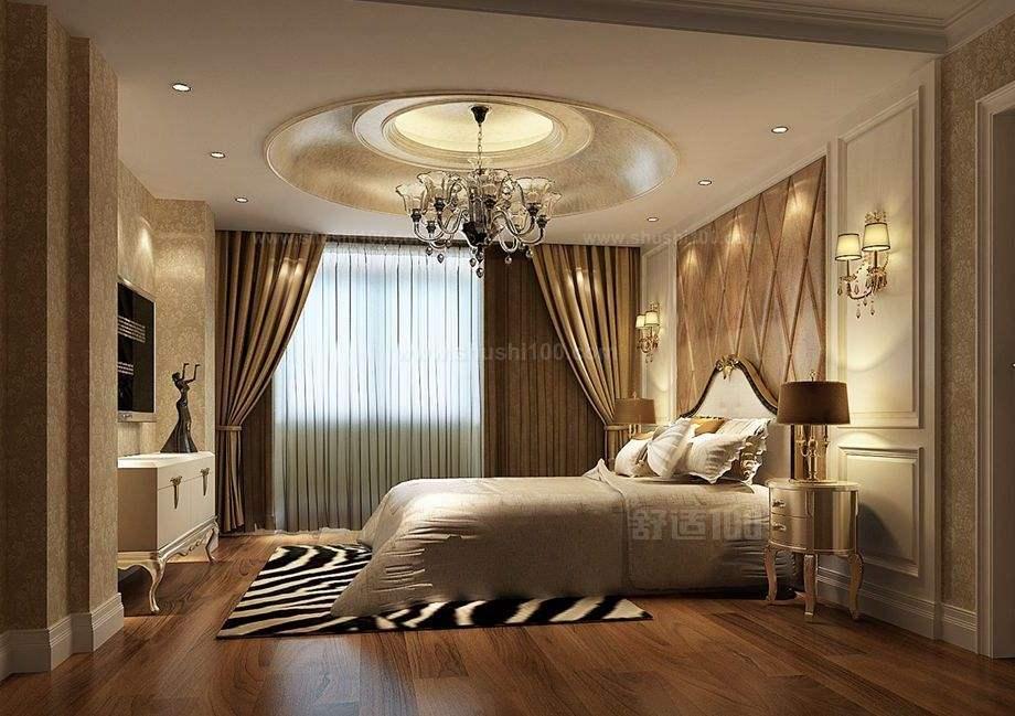 现代美式卧室