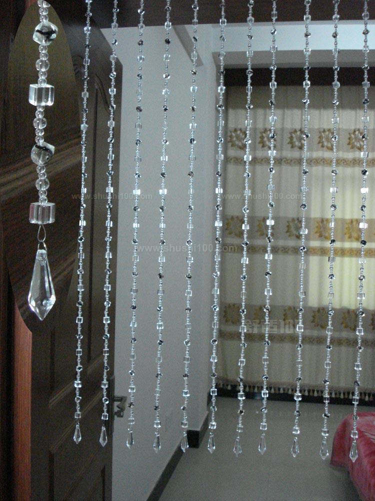 水晶珠帘门帘—水晶珠帘门帘安装及风水介绍