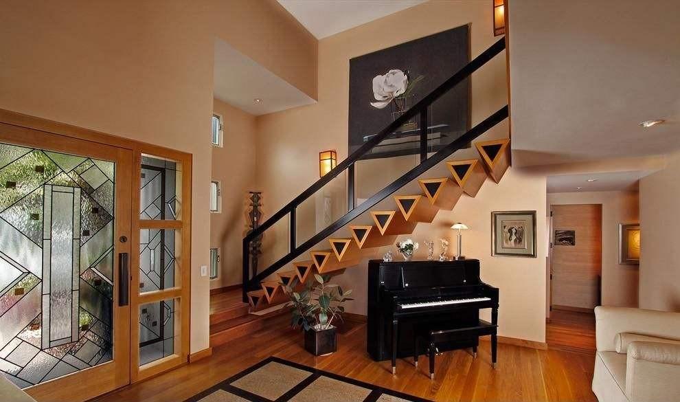 阁楼的楼梯设计-舒适100网