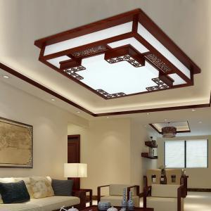 中式客厅吊灯是比较不错的一种风格图片