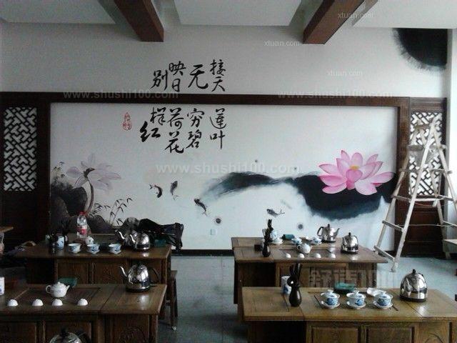 手绘墙画餐厅—如何画墙画