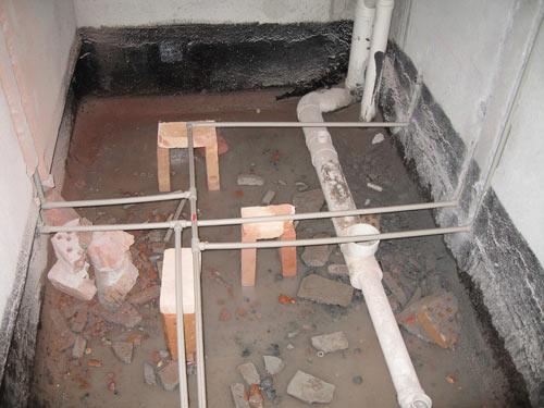 水管进卫生间—如何安装水管进卫生间