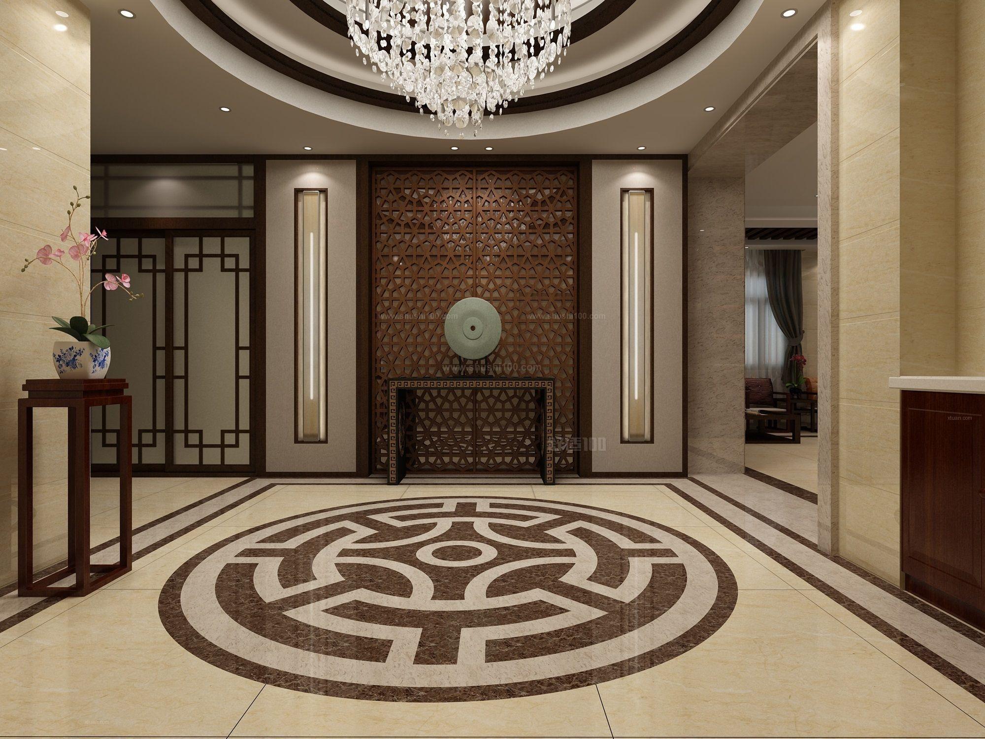 中式别墅玄关—中式别墅玄关的设计要点介绍