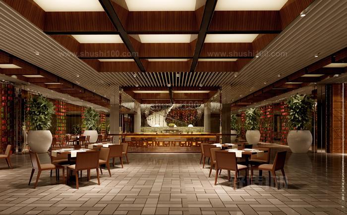 餐厅的设计非常的质朴,实木制的餐桌餐椅,在灯光下更加的高贵。餐厅背景墙用一副书法,再配上周边置物架上摆放的陶瓷艺术品等。中国风十足啊。背景墙采用了著名的山水画,磅礴的气势,悬崖上的黄松表达着坚韧挺拔的寓意,让这沉稳的餐厅内增添了我们对中式文化的喜爱。 通过正确的装修设计方法,我们可以将中式仿古餐厅设计的非常美观,通过上文的介绍,大家可以合理的进行这方面的设计工作,肯定可以带来不错的装饰装修效果,希望上文能成为大家不错的参考。