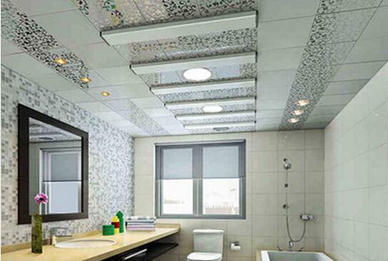pvc扣板造型—卫生间pvc扣板吊顶设计造型有哪些注意事项