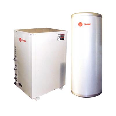特灵地源热泵 空调采暖生活热水三位一体机,适合350㎡独立别墅(不含打井)