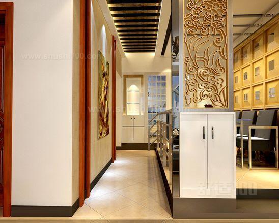 走廊地面设计原则是要给人以整洁明朗的感觉.