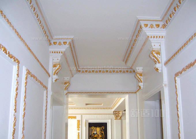天花板石膏线—天花板石膏线的种类