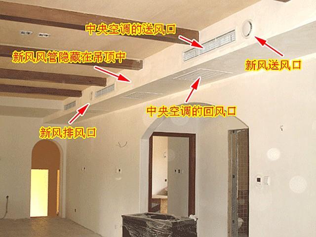 空调新风系统安装—中央空调和新风系统安装有哪些注意事项