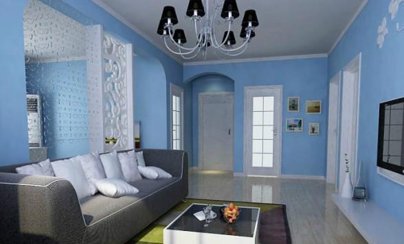地中海客厅装修—地中海风格的客厅装修技巧