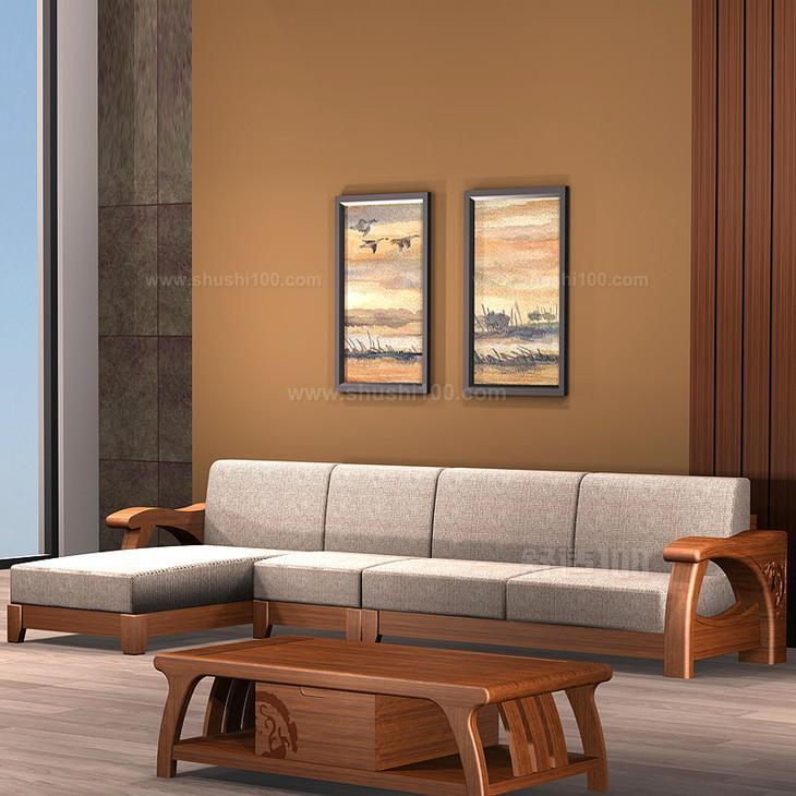 实木沙发组合 实木转角组合沙发的价格如何