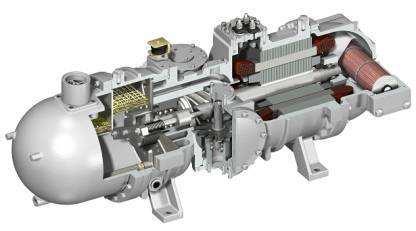 大金单螺杆压缩机—原理介绍