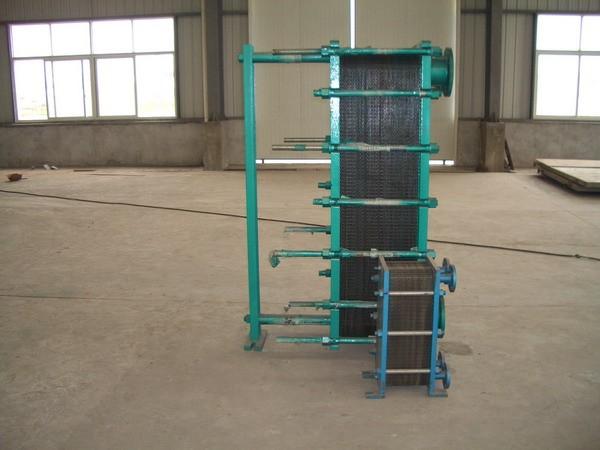 板式换热器原理—板式换热器的基本结构跟工作原理