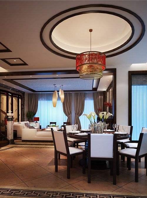 中式餐厅吊顶—中式餐厅吊顶如何设计