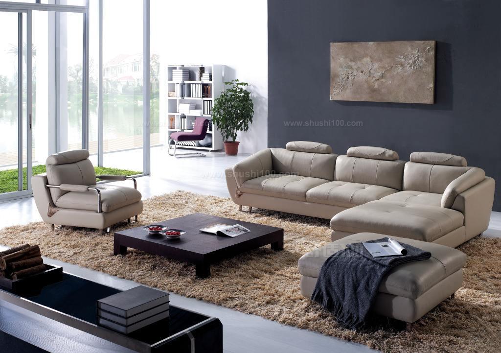 布艺沙发 布艺沙发主要是指主料是布的沙发,经过艺术加工,达到一定的艺术效果,满足人们的生活需求。优点:布艺沙发较为休闲舒适,款式多样,可以更换沙发套以变换样式,价格较为便宜,清洗较为容易;缺点:布艺沙发最大的缺点就是容易脏,有的布艺沙发可拆洗,还较为方便,但是布质清洗过后,容易产生褪色、褶皱等问题,质量较差的布艺沙发还容易变形。 皮质沙发 皮质沙发的质地有全青皮、半青皮、压纹皮、裂纹皮,沙发皮面是头层皮、二层皮和三层皮等。皮沙发的优点:首先比较大气时尚,而且比较好清洗。好的皮沙发也是比较耐用的,简洁也很好