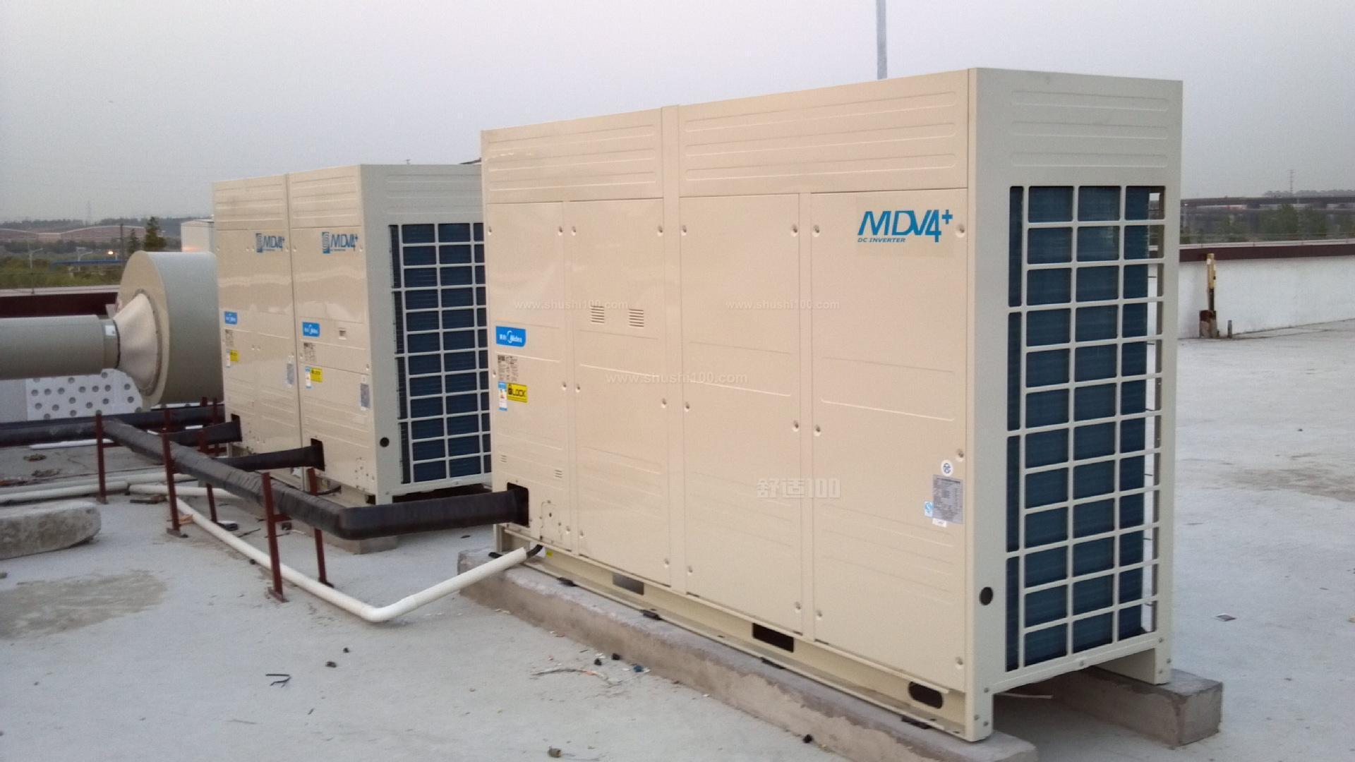 武汉中央空调拆装—内外机安装位置确定 拆卸后放下室外机时,最好用