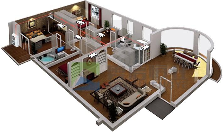 别墅空调解决方案—别墅空调安装方案