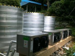 地源热泵优浴室—森韵热能地源热泵浴室的设计特点