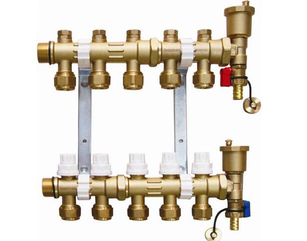 新型地暖分水器—新型地暖分水器品牌介绍图片