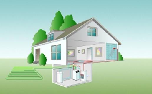 博世地源热泵系统—博世地源热泵系统工作原理