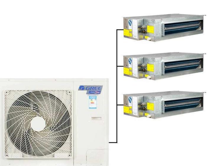格力中央空调一拖三多少钱—格力家用中央空调一拖三的价格是多少