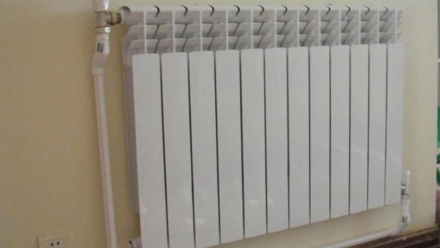 扬州老房装暖气