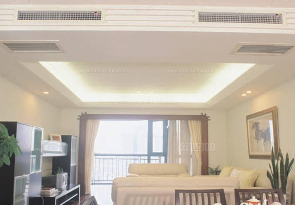 室内空调管装饰效果图