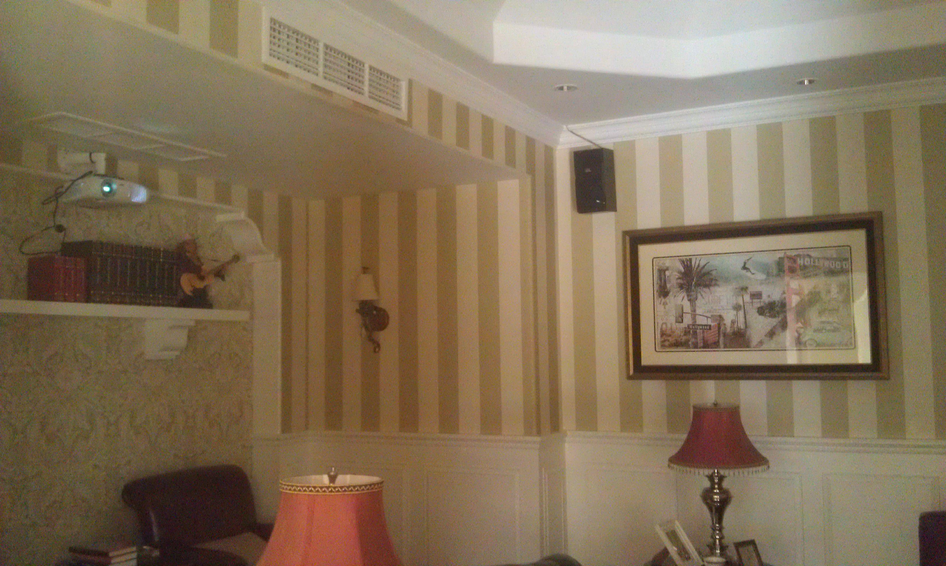 嘉兴百家公寓中央空调安装效果图