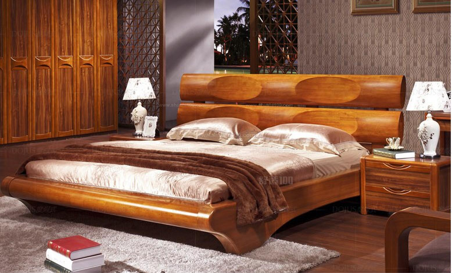 中式实木床—中式实木床有哪些好的品牌图片