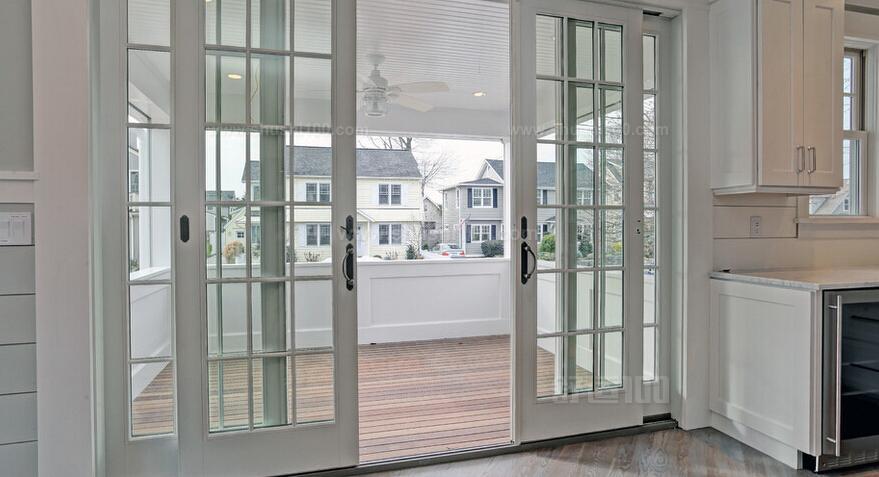 厨房玻璃推拉门—如何选择厨房玻璃推拉门图片