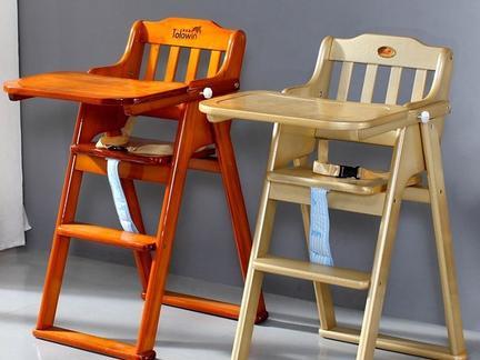 宝宝餐椅木工图纸