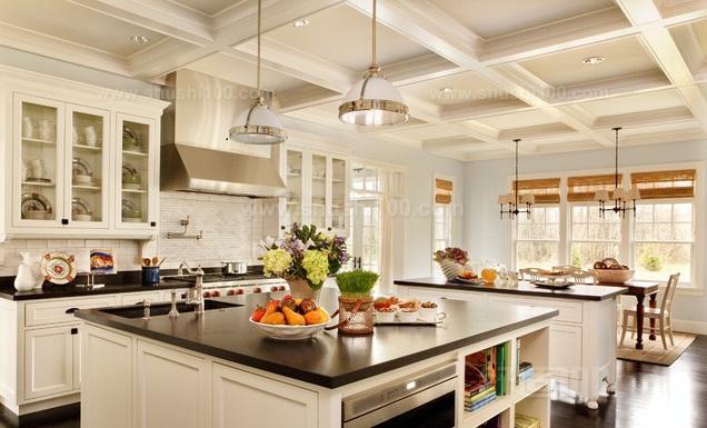 厨房中岛台尺寸—岛型厨房的尺寸应该是多少