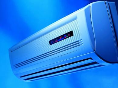 拆开空调过滤网时留意别碰到室内机组的金属有些,防止刮伤.