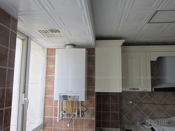 天然气壁挂炉安装位置-实例展示天然气壁挂炉安装图