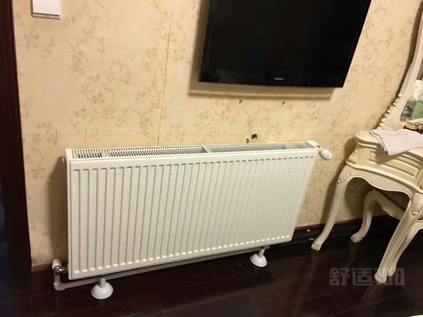 暖气片安装示意图