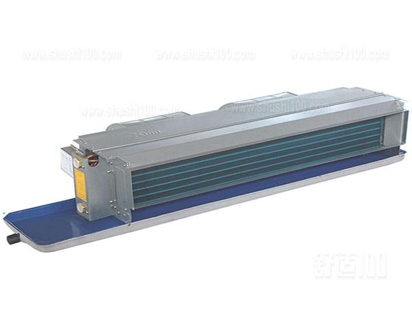 风机盘管安装高度—风机盘管工作原理及组成介绍