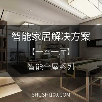 智能家居解决方案 智能全屋系列 一室一厅标准型
