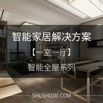 智能家居解决方案 智能全屋系列 一室一厅舒适型