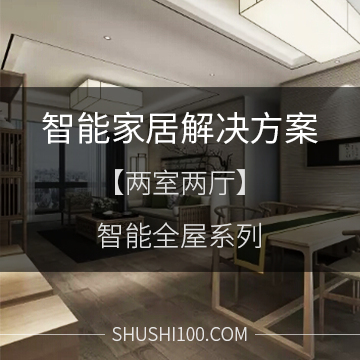 智能家居解决方案 智能全屋系列 两室两厅标准型